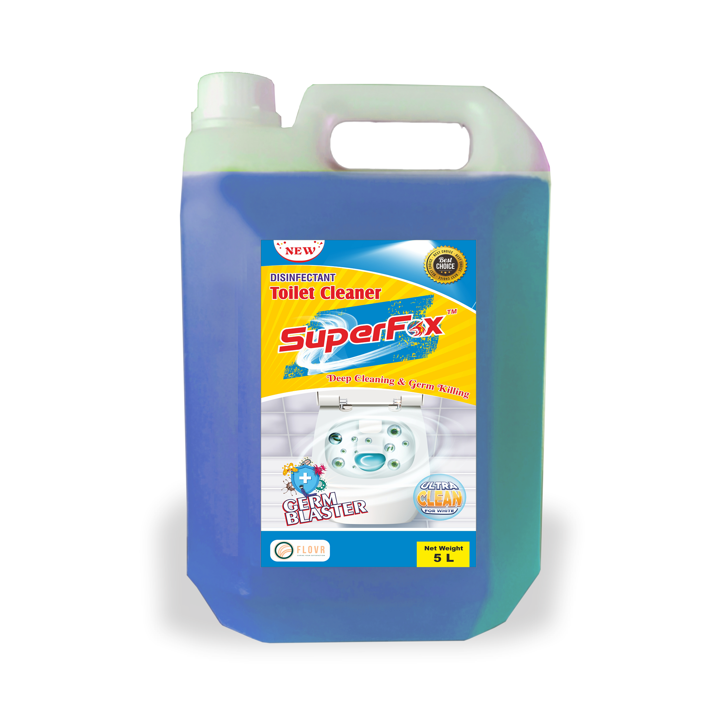 SuperFox™ Toilet Cleaner 5 Litres